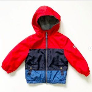 Osh Kosh Red, Navy & Blue Rainguard Jacket 18 mos